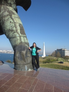 Sandy in Sevastopol