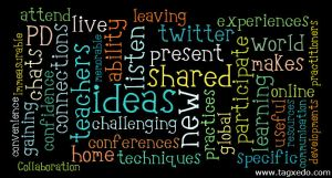 What do you think you have gained from using online conferences / webinars for professional development?