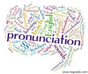 Pronunciation wordcloud (eltchat 2nd Feb 2011)