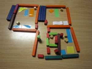My flat in Cuisenaire rods