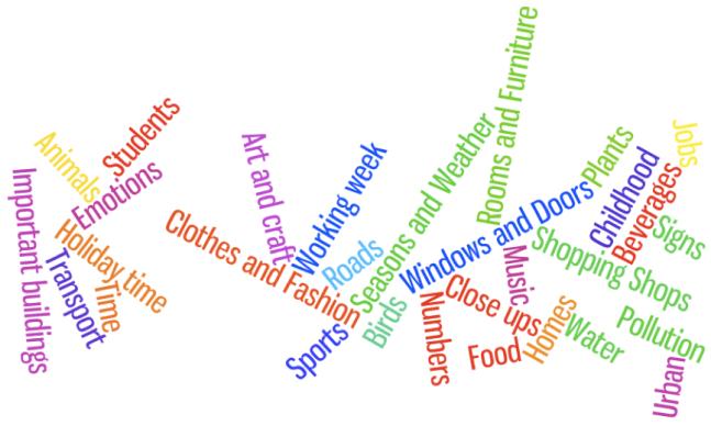 eltpics topics wordle