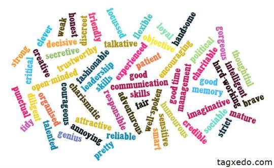 Characteristics for jobs
