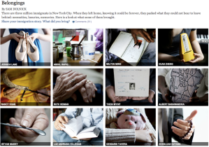 Immigration belongings screenshot