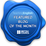Teaching English British Council featured blog of the month February 2012