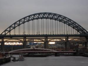 The bridges of the River Tyne