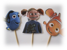 Finding Nemo puppets