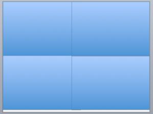 Four boxes grid