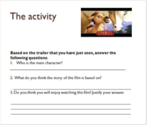 Trailer activity