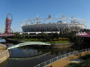 The Olympic Stadium and Orbit