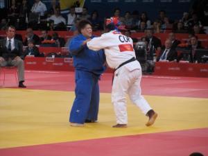 Judo - a women's gold medal match