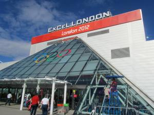 The spectators' entrance to ExCeL