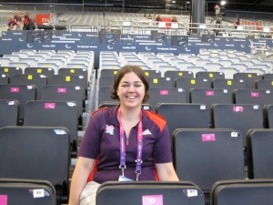 Powerlifting London 2012, Paralympic Family stand