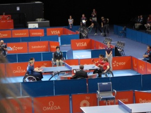 GB v Turkey table tennis