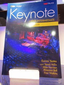 Keynote B2 Upper Intermediate workbook front cover featuring my name and four other authors