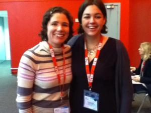 Lizzie and Sandy at IATEFL Liverpool