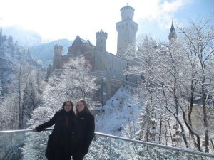 Catherine and I in Bavaria, where we hatched our Mandarin plan...