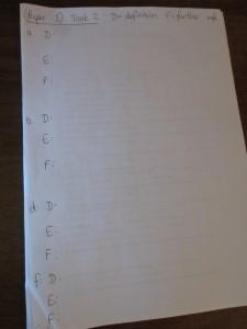 Paper 1 Task 2