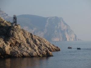 The entrance to Balaklava Bay (photo by Sandy Millin)