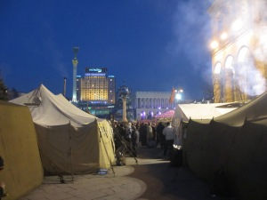 Tents and the square