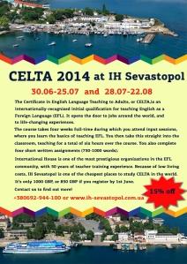 CELTA 2014 at IH Sevastopol