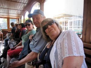 Grandma, grandy and mum