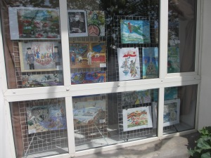 Main children's library - artwork