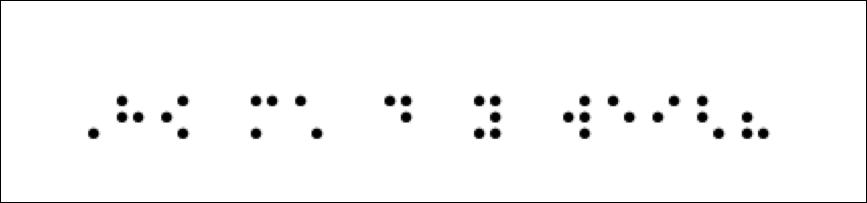 braille : Sandy Millin