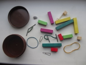 A selection of random objects