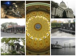 Sacramento collage