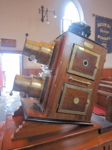 Projector at Beamish Museum
