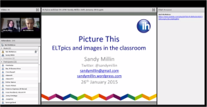 ELTpics webinar screenshot