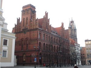 The post office in Bydgoszcz's beautiful neighbour, Torun