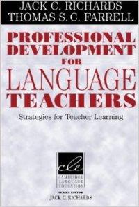 Professional development for language teachers cover