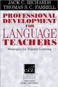 Professional development for language teachers cover
