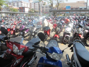 Scooters at Central Airport Plaza
