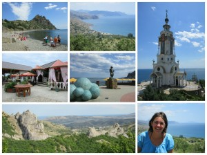 Karadag, Koktebel, Mayak and the mountains of Crimea