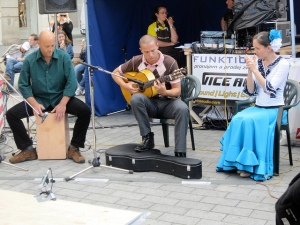 Flamenco band, Brno