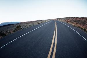 Road in Utah, USA