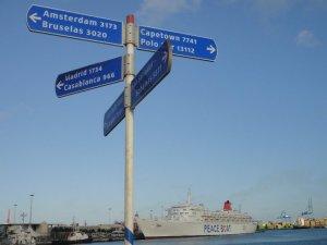 Peace Boat ship