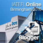 IATEFL Birmingham 2016 registered blogger