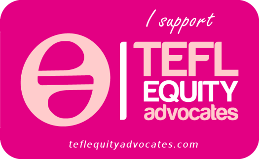 TEFL Equity Advocates support badge