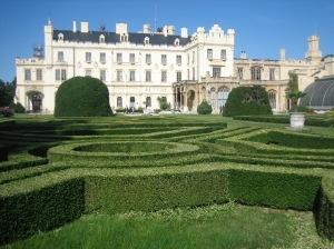 Lednice chateau, south of Brno