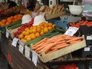 Zelny Trh vegetables, Brno