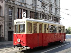 Old tram in Bydgoszcz