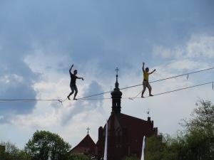 Slackline games, Bydgoszcz