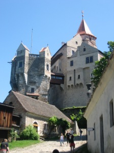 Hrad Pernstejn, near Brno