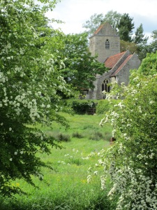 Lillingstone Lovell church on the open gardens day