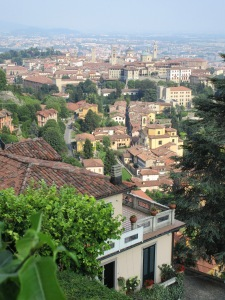 Bergamo from San Vigilio