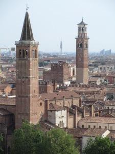 Verona - view from Castel San Pietro