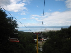 Ushuaia - going up to Glaciar Martial